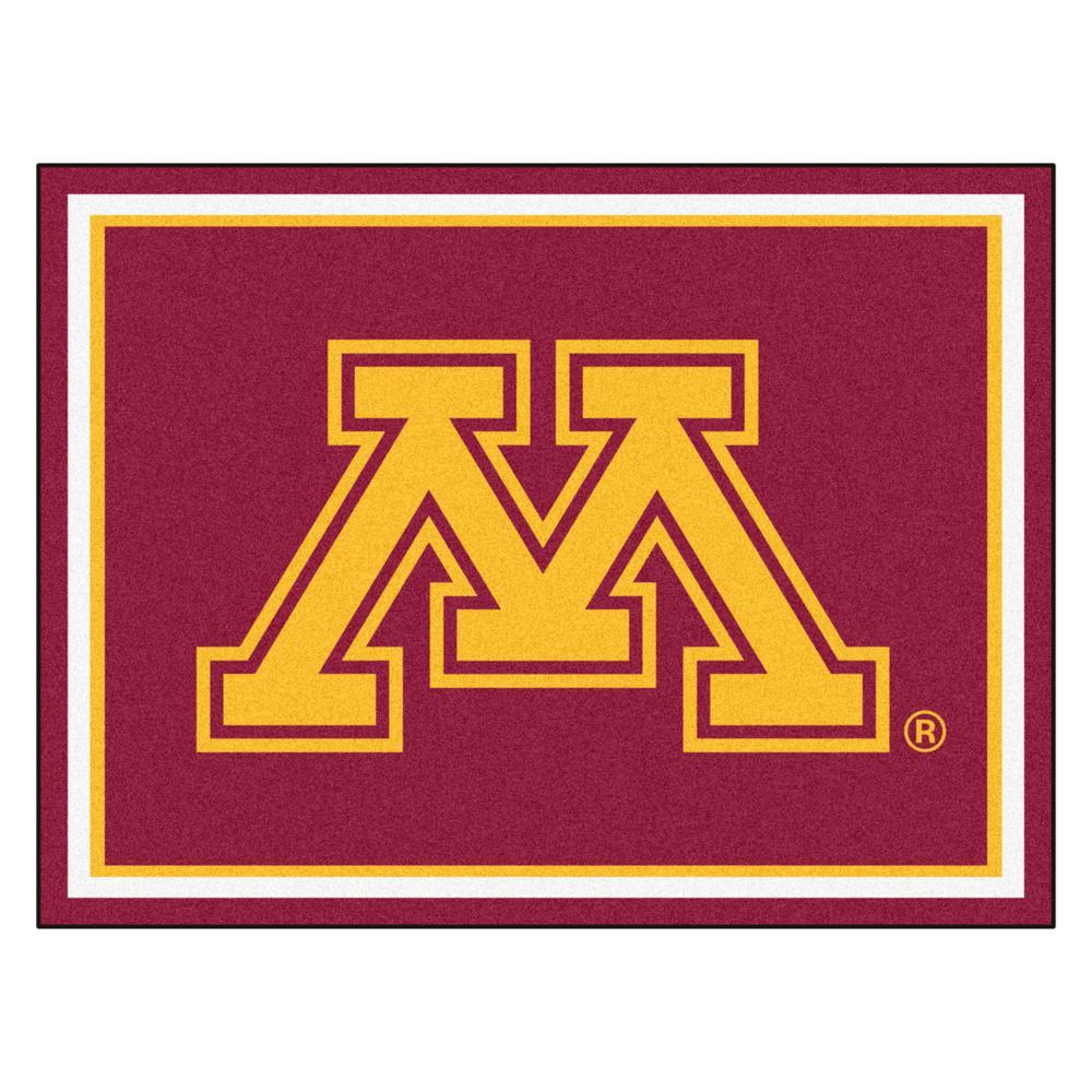 Ncaa - University of Minnesota Red 10 ft. x 8 ft. Indoor Rectangle Area Rug