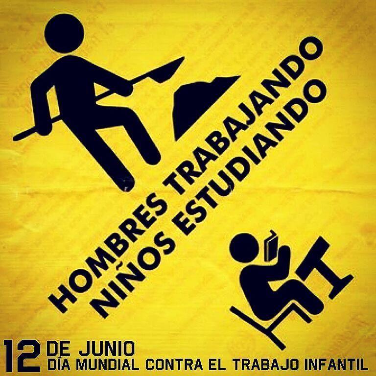Hoy Conmemoramos El Día Mundial Contra El Trabajo Infantil