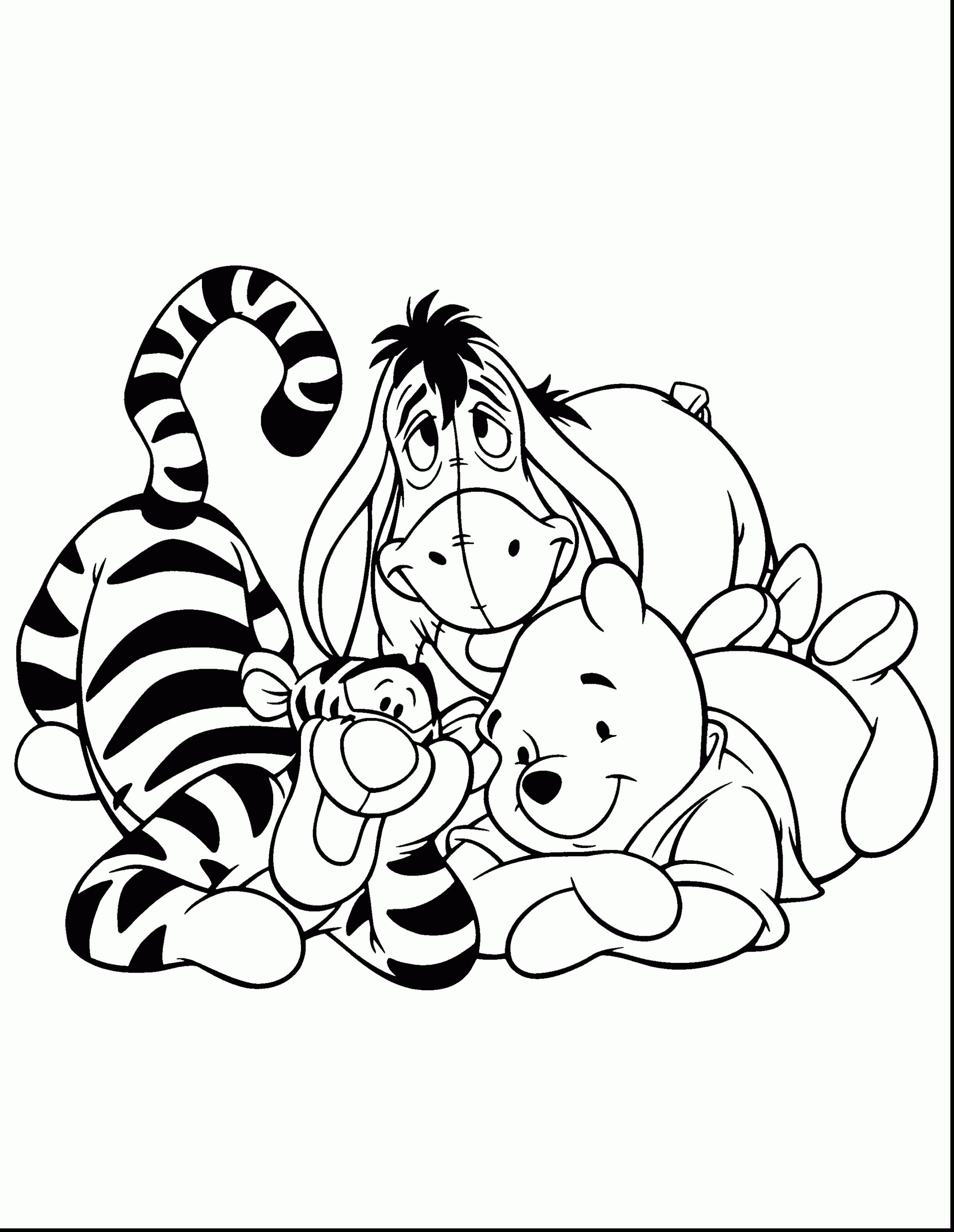 Inspiration Photo Of Tigger Coloring Pages Davemelillo Com Bear Coloring Pages Coloring Pages Coloring Books