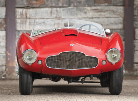 1954 Aston Martin DB2/4 Competition Spider by Bertone