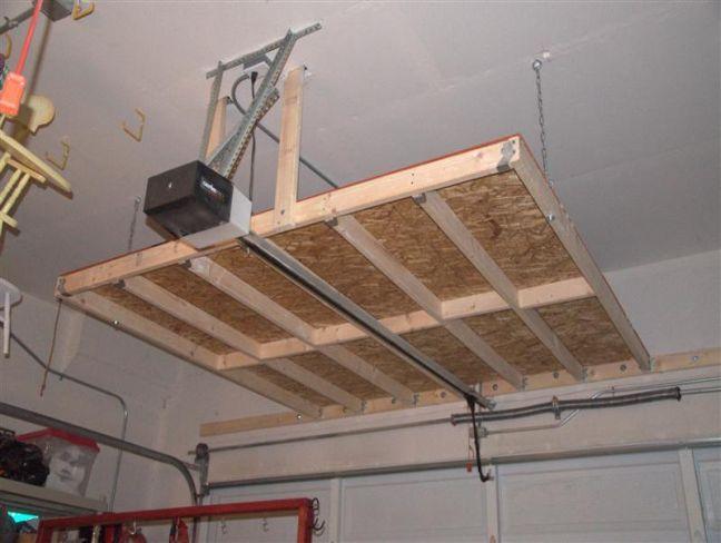Garage Storage Plans Pdf Google Search Deckenlagerung Garagenstauraum Organisierte Garage