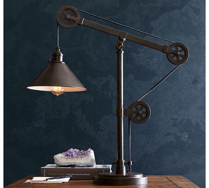 Warren Pulley Task Table Lamp Design Que Adoro Pinterest