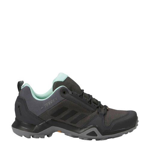 adidas Terrex AX3 GTX outdoor schoenen grijs/mintgroen in ...