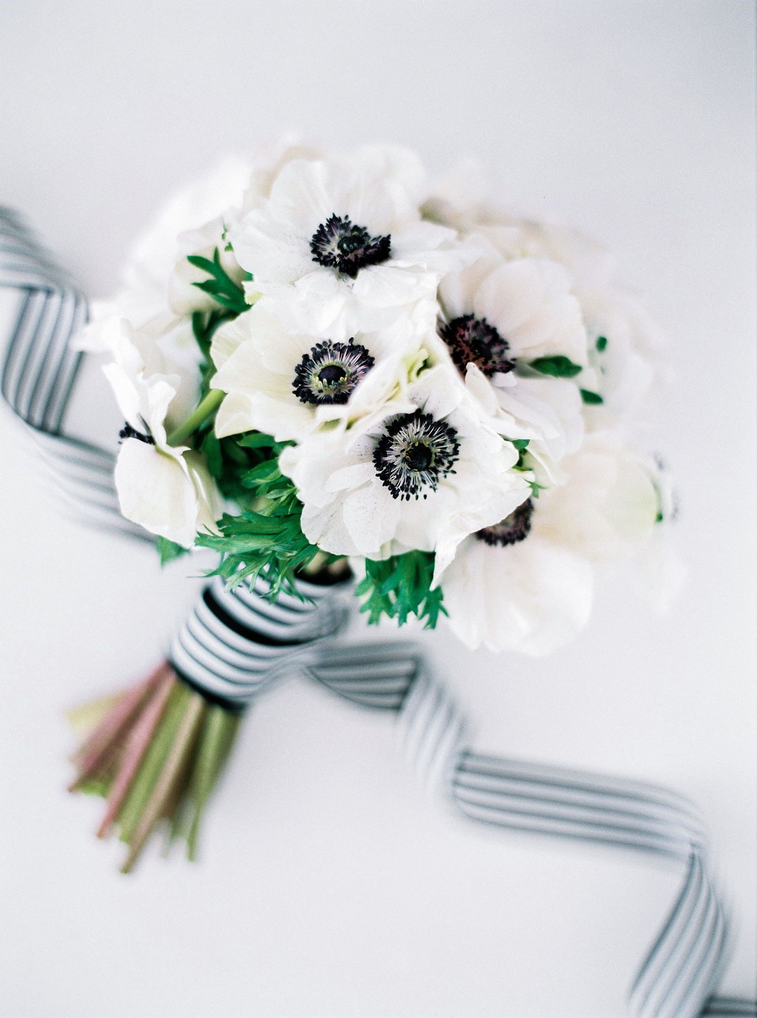 An Emerald, Black, and White Wedding with Breathtaking