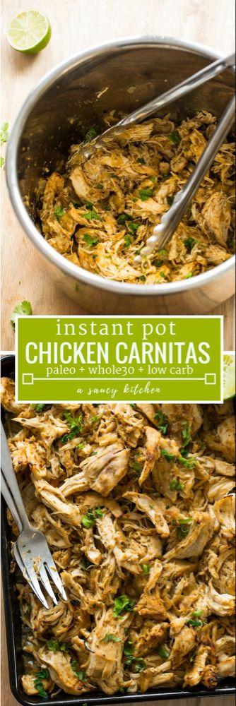 Instant Pot Chicken Carnitas