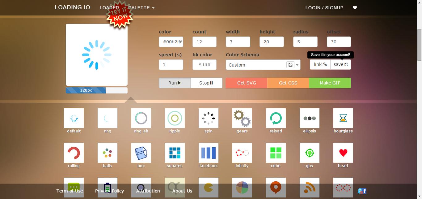 loading.io Your SVG + GIF Ajax Loading Icons Loading