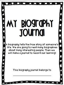 This journal is a great way for your students to record their learning when reading biographies or studying important historical figures!  Students will record date and place of birth, two facts they learned, character traits, and will get to draw a picture of the person they have read about!