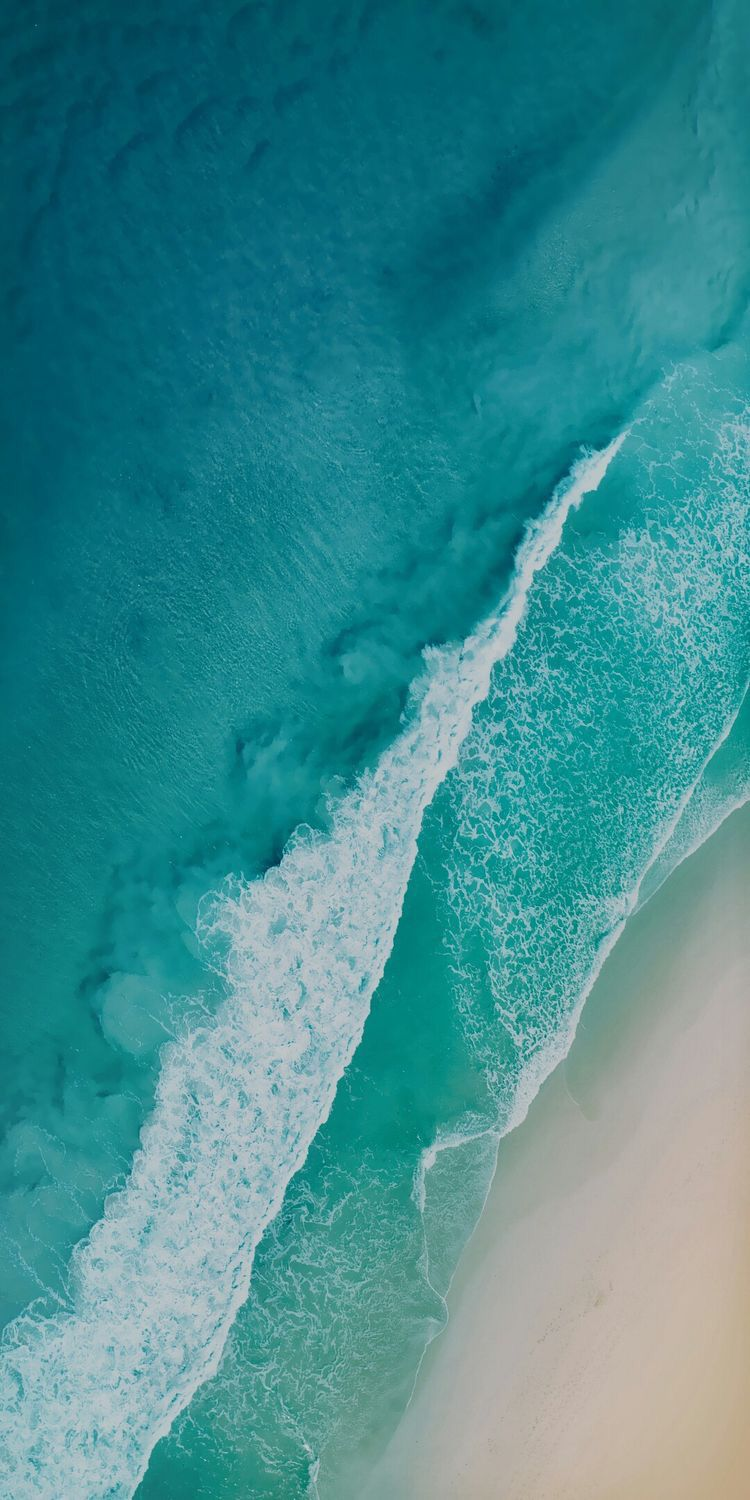 Pin By Nick On Ocean Ocean Wallpaper Ios 11 Wallpaper Beach