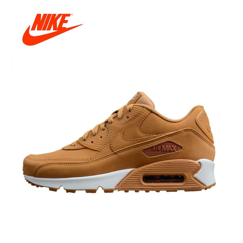 classic fit 24b46 eecb8 Nike AIR MAX 90 Essential - Light Brown. Original Authentic Nike Running  Shoes ...
