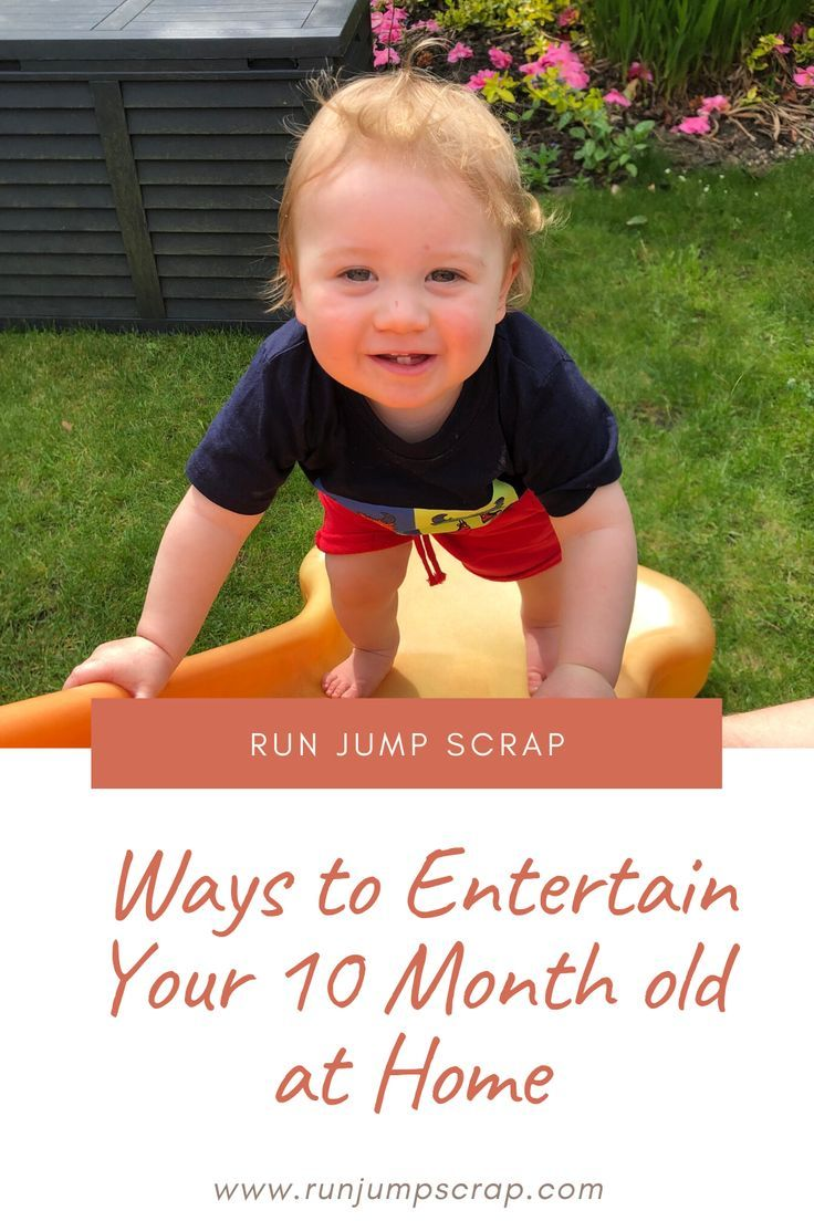 Entertaining a 10 month old at home can be hard work. You need to get stuff done but they are into everything! Here are some ways to entertain your 10 month old at home! #kids