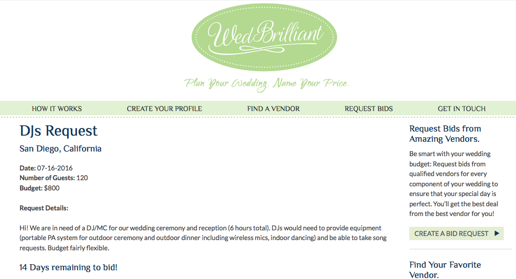 Request ID10225 How to plan, Plan your wedding, Wedding