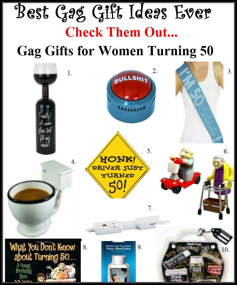 The Best Gag Gifts For Women Turning 50 It Will Be Gift She Received All Day