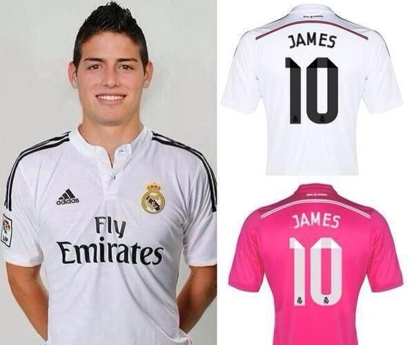 new styles fd6ac 51553 Real Madrid sold 50,000 James Rodriguez shirts yesterday ...
