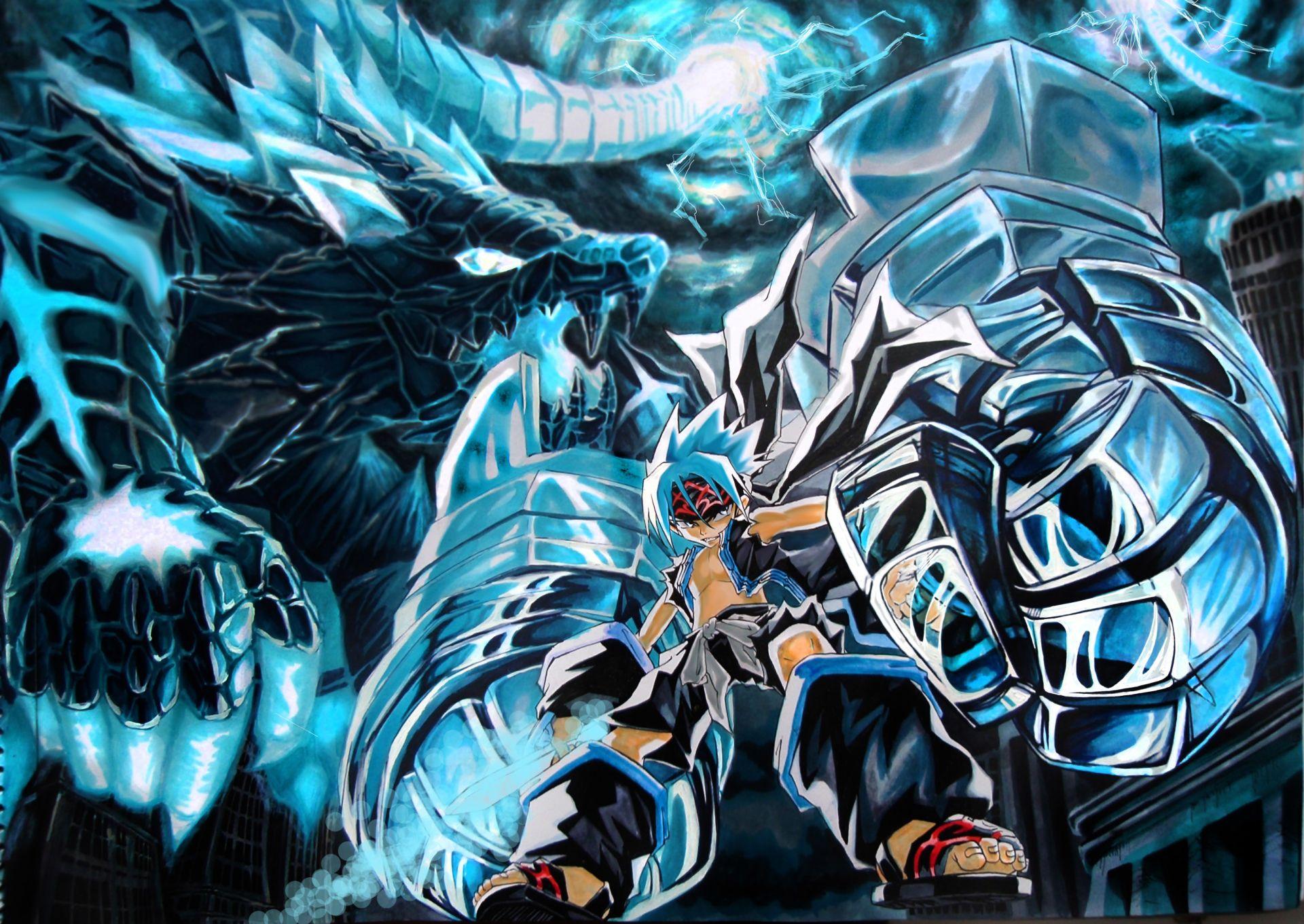 Anime Shaman King Fondo de Pantalla Chamanismo, Fondos