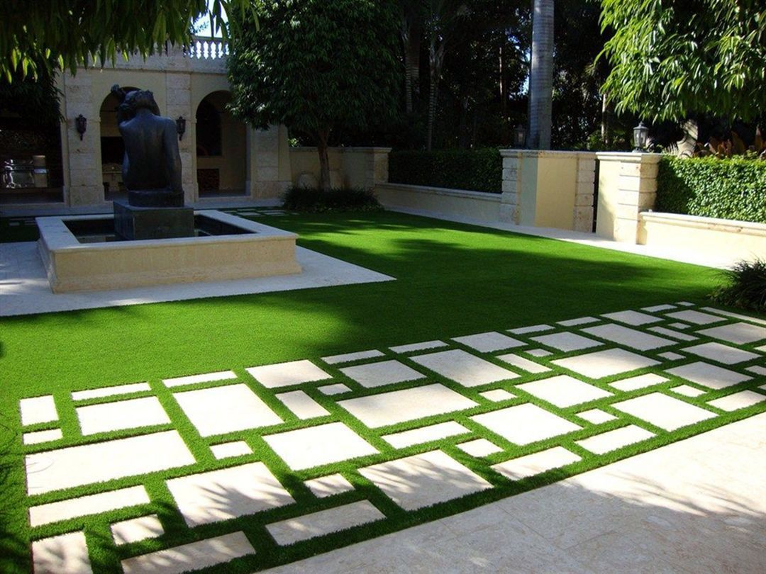 10 DIY Small Backyard Ideas That Make a Big Statement | No ... on Cheap No Grass Backyard Ideas id=50507