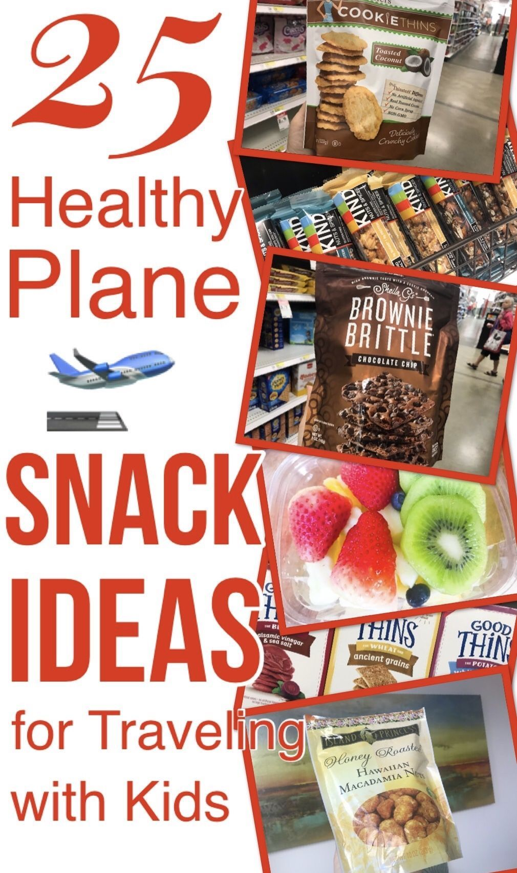 25 HEALTHY PLANE SNACK IDEAS (FOR TRAVELING WITH KIDS) | Need healthier plane snacks when traveling...