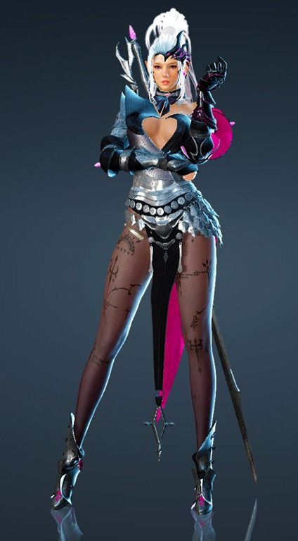 bdo-thin-terna-dark-knight-costume | Gamer gal | Dark knight