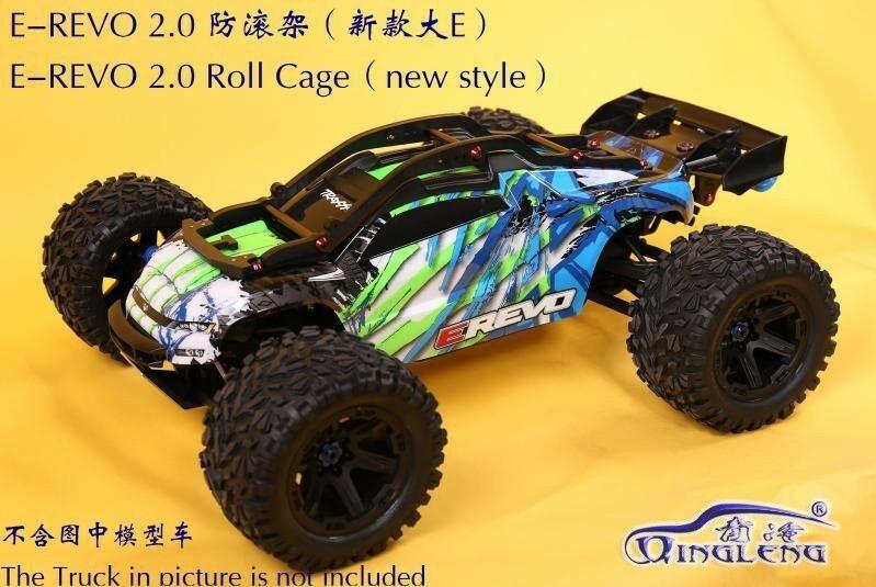 Details About Rc Car Frame Car Shell Roll Cage Wheelie Bar New 1 10 Traxxas Erevo E Revo 2 0 In 2020 Roll Cage Car Frames Traxxas