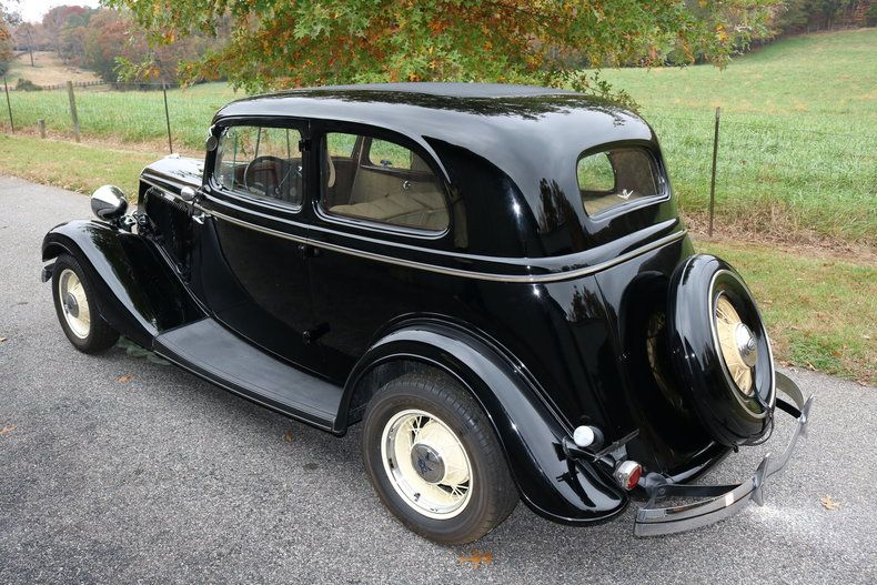 1934 Ford Victoria GAA Classic Cars Ford, Ford motor
