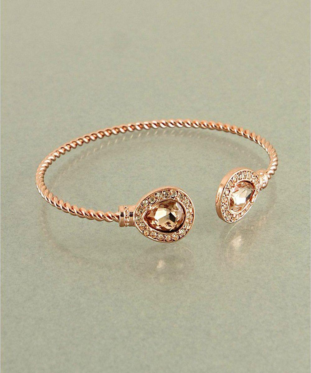 Rose Gold Cable Bracelet