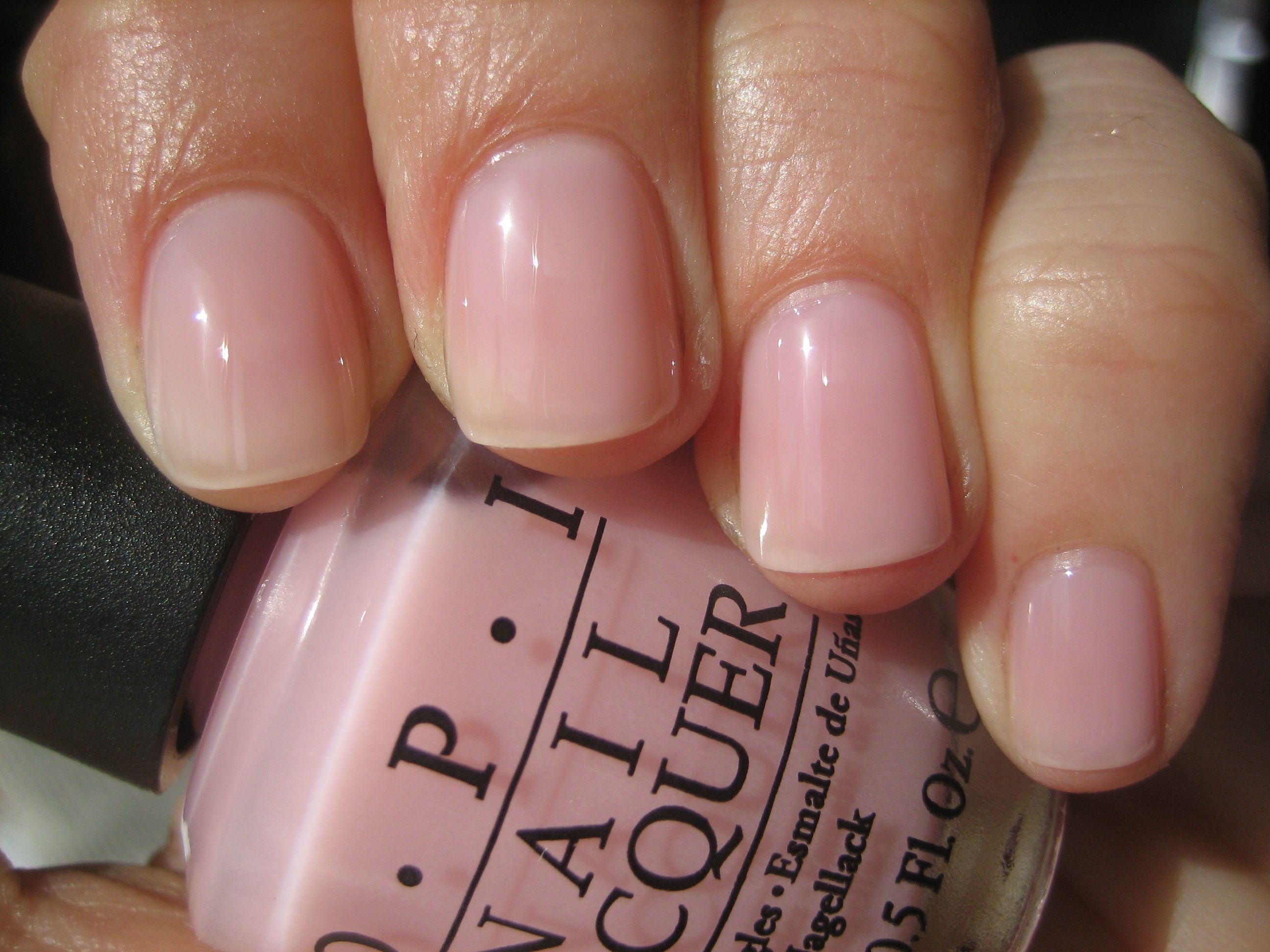 In The Spot Light Pink Swatch By Opi Manis Make Me Happy