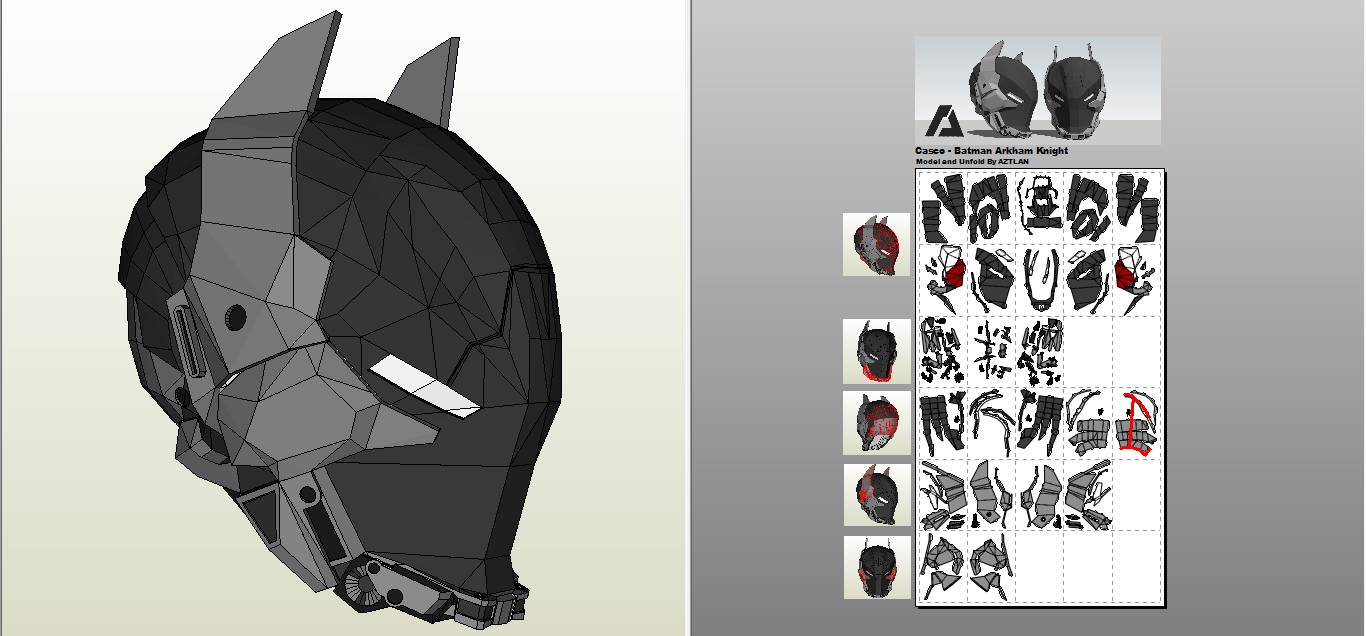 modeling batman arkham knight Cerca con Google Sculptures