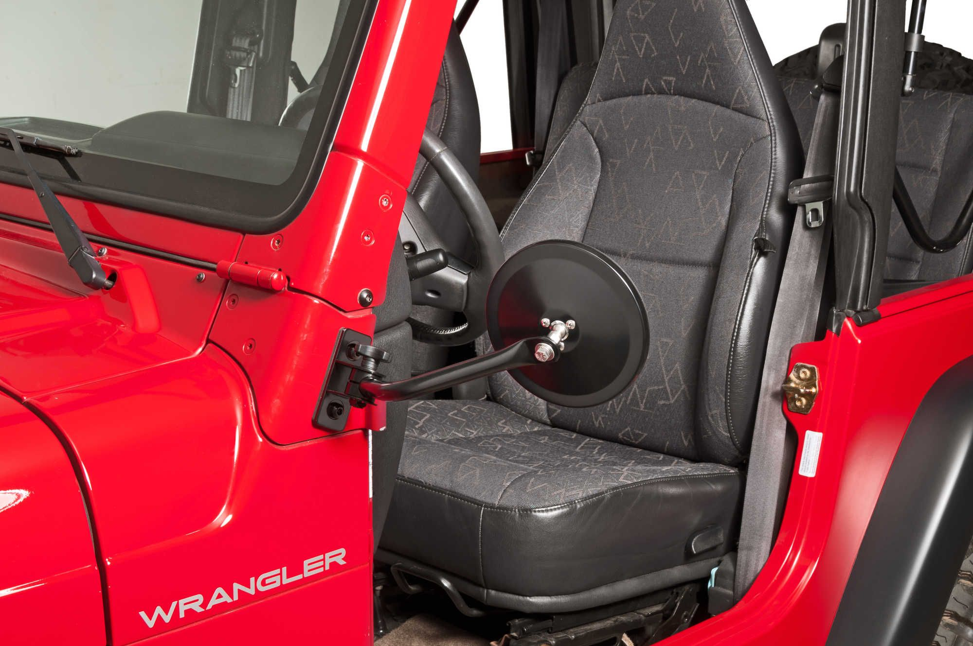 Quadratec 39 S Quick Release Mirror Movers Provide Driver And Passenger Side Mirrors That Attach To The Quot A Quot Pillar Jeep Wrangler Jk Side Mirror Jeep