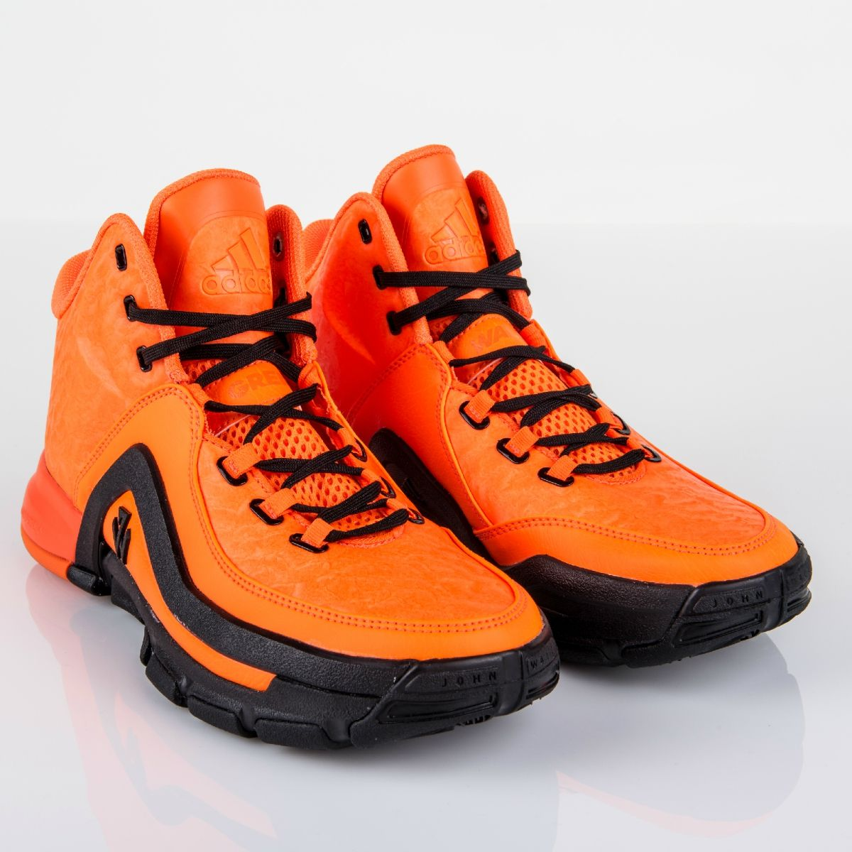 These 'Solar Orange' adidas Wall 2s are inspired by ...