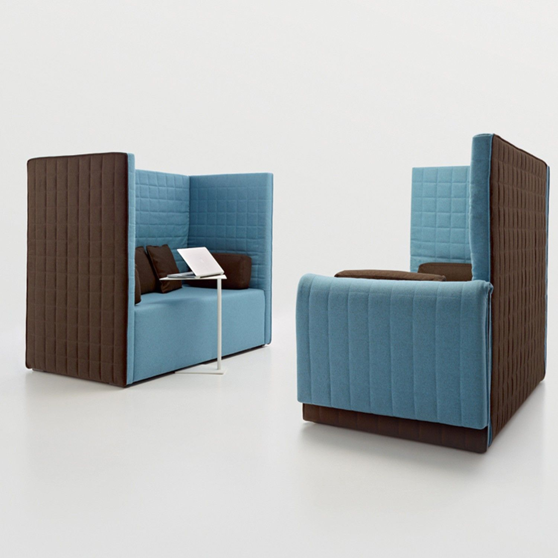 Marea High Back Sofa Acoustic Sofa Apres Furniture