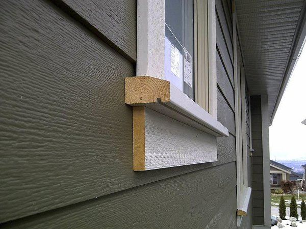 Amazing Exterior Window Sill Exterior Trim In 2019