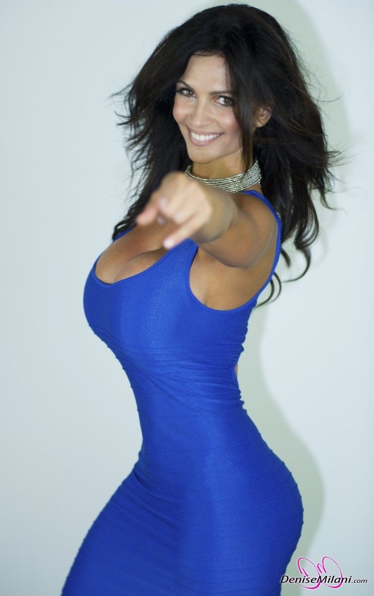 데니스밀라니(Denise Milani) - Blue Dress - eyval.net | SEXY AS ... Denise Milani Blue Dress