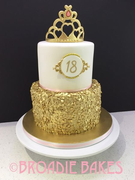 Image Result For Black And Gold 18th Birthday Cake 18th