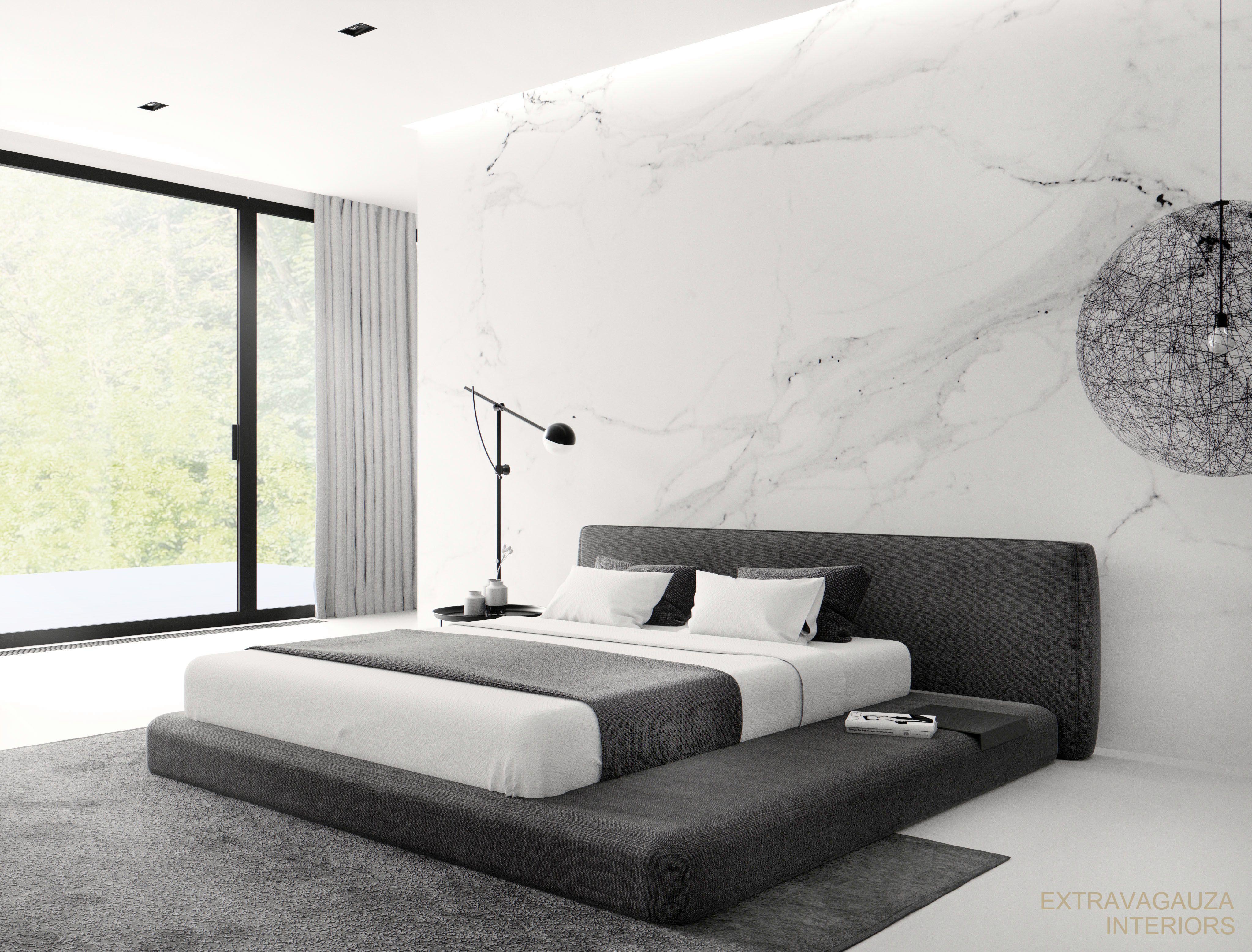 Extravagauza Interiors Contemporary Minimalist Bedroom Interior Design Www Extravagauza