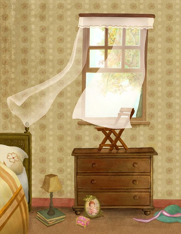 By Yoon Jae Lee Lainlove77 Window Illustration Interior Home Decor