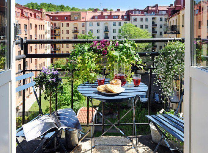 ▷ 1001+ Conseils Pratiques Pour Aménager Un Petit Balcon | Balconies