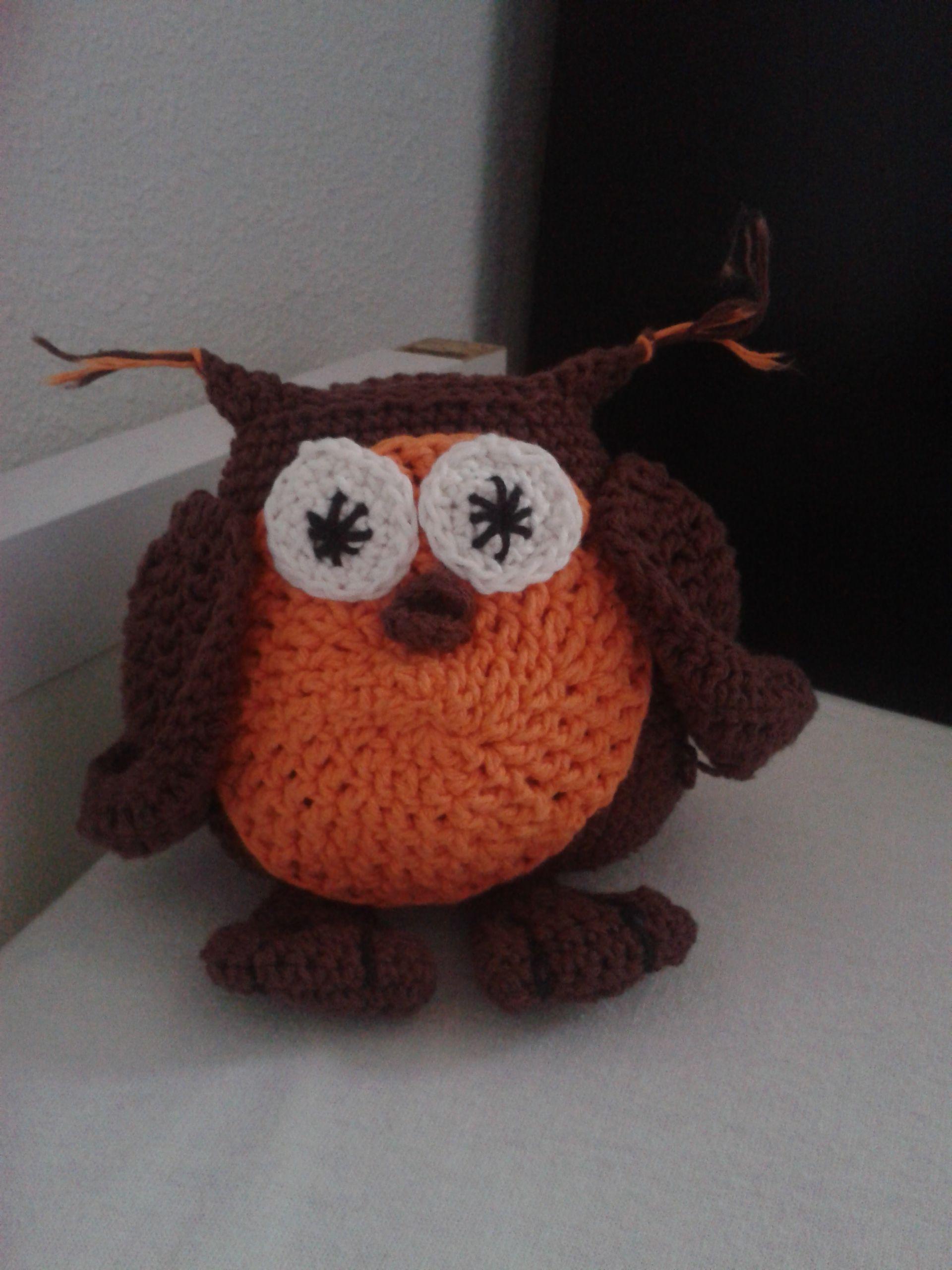Owl #haken #crochet