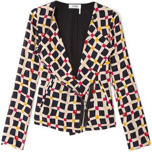 a62ef01233 Sonia Rykiel silk cherry print moto jacket on super sale! | FINERIE ...