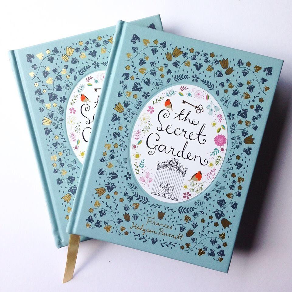 The secret garden coloring book barnes and noble - The Secret Garden Cover Art By Flora Waycott