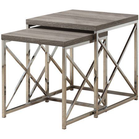 Home Nesting Tables Nesting End Tables Monarch Specialties
