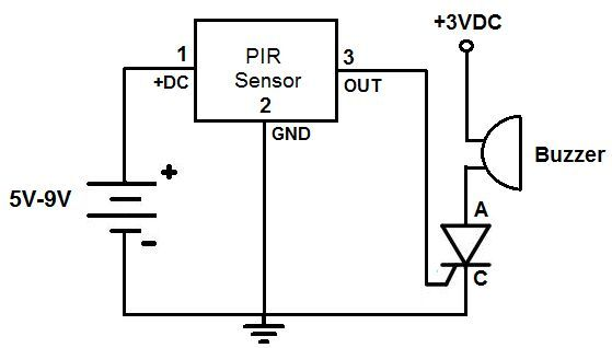 Photoresistor Buzzer Circuit is a light-controlled variable ...