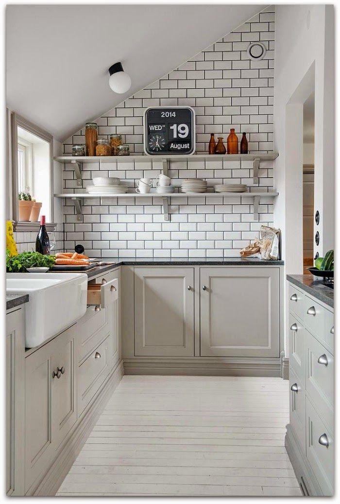 En casa de Oly Tendencias de decoración para la cocina azulejo