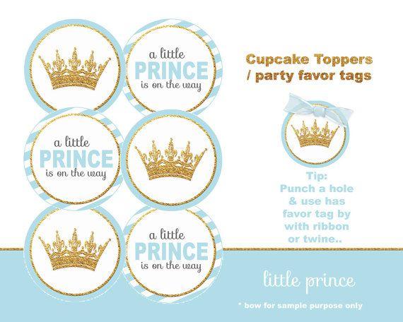 Little Prince Baby Shower crown Little prince by blueangeldigitals
