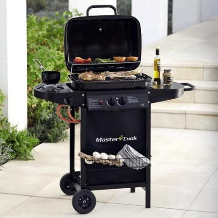 Master Cook Classic 2 Burner Gas Barbecue | Dunelm | For the