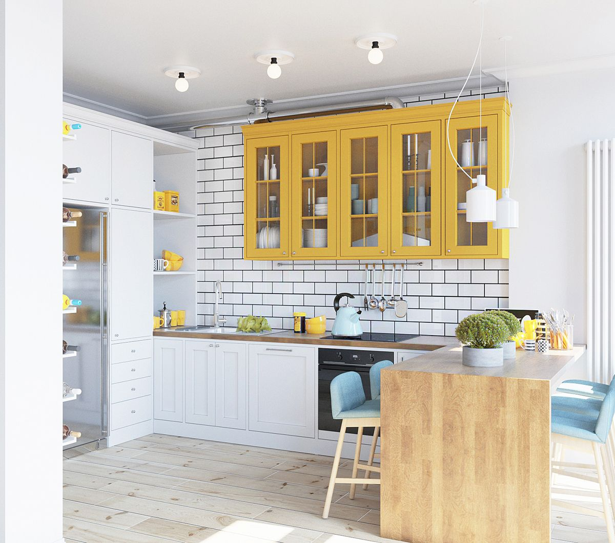 Spectacular Kitchen Family Room Renovation In Leesburg: Living Complex Comforttown / Kiev / Ukraine