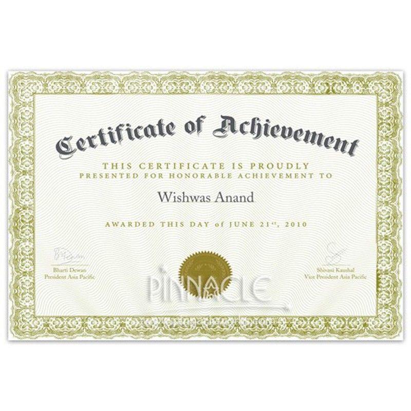 Army Certificate Of Achievement Template Popular Professional Template Certificate Of Achievement Template Certificate Templates Certificate Of Appreciation