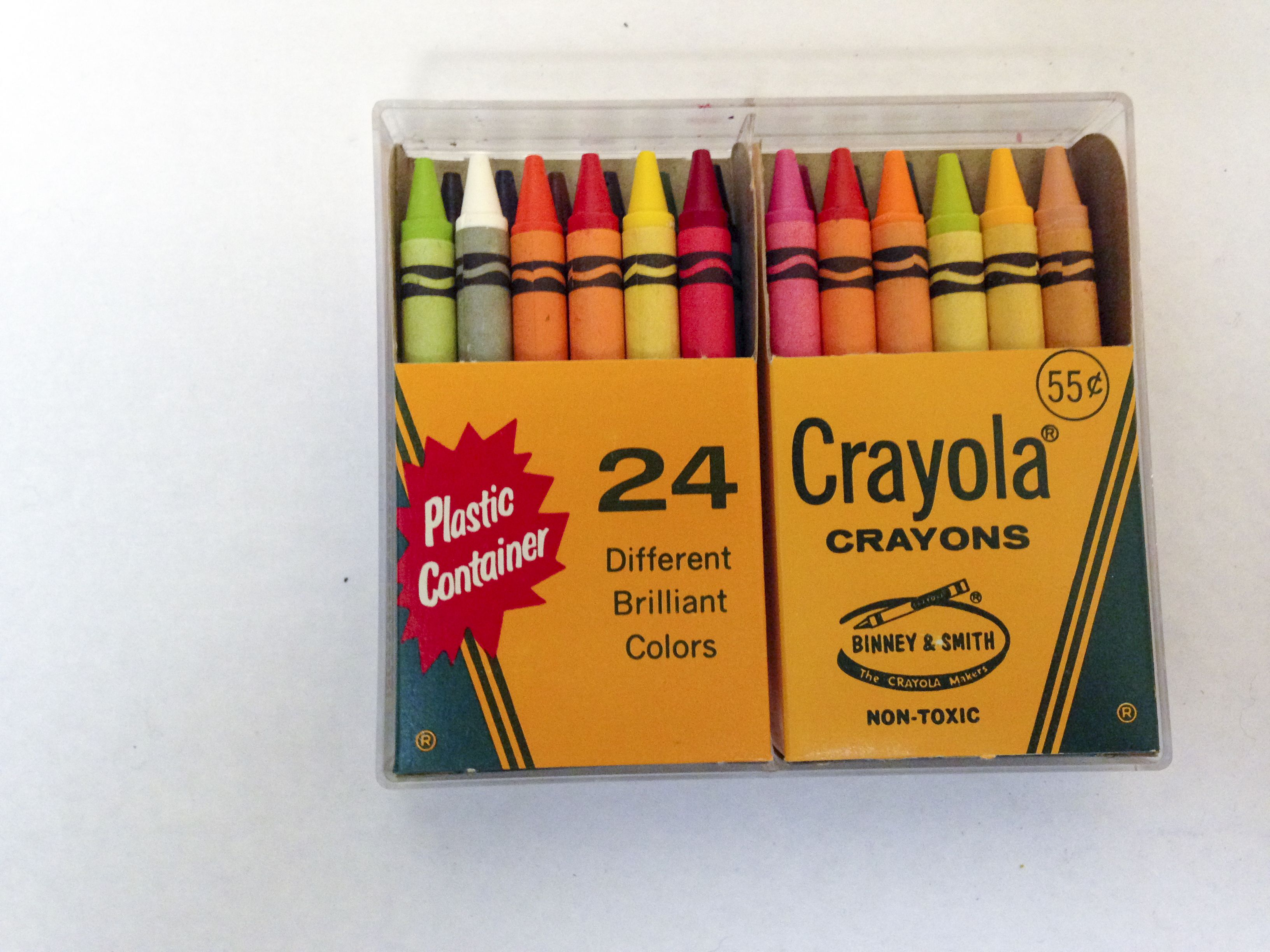 Plasti Color Crayons Box with Crayons included