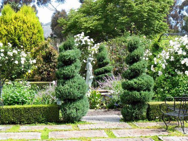 french country landscape design ideas | Landscape Design: French Garden | Style Motivation