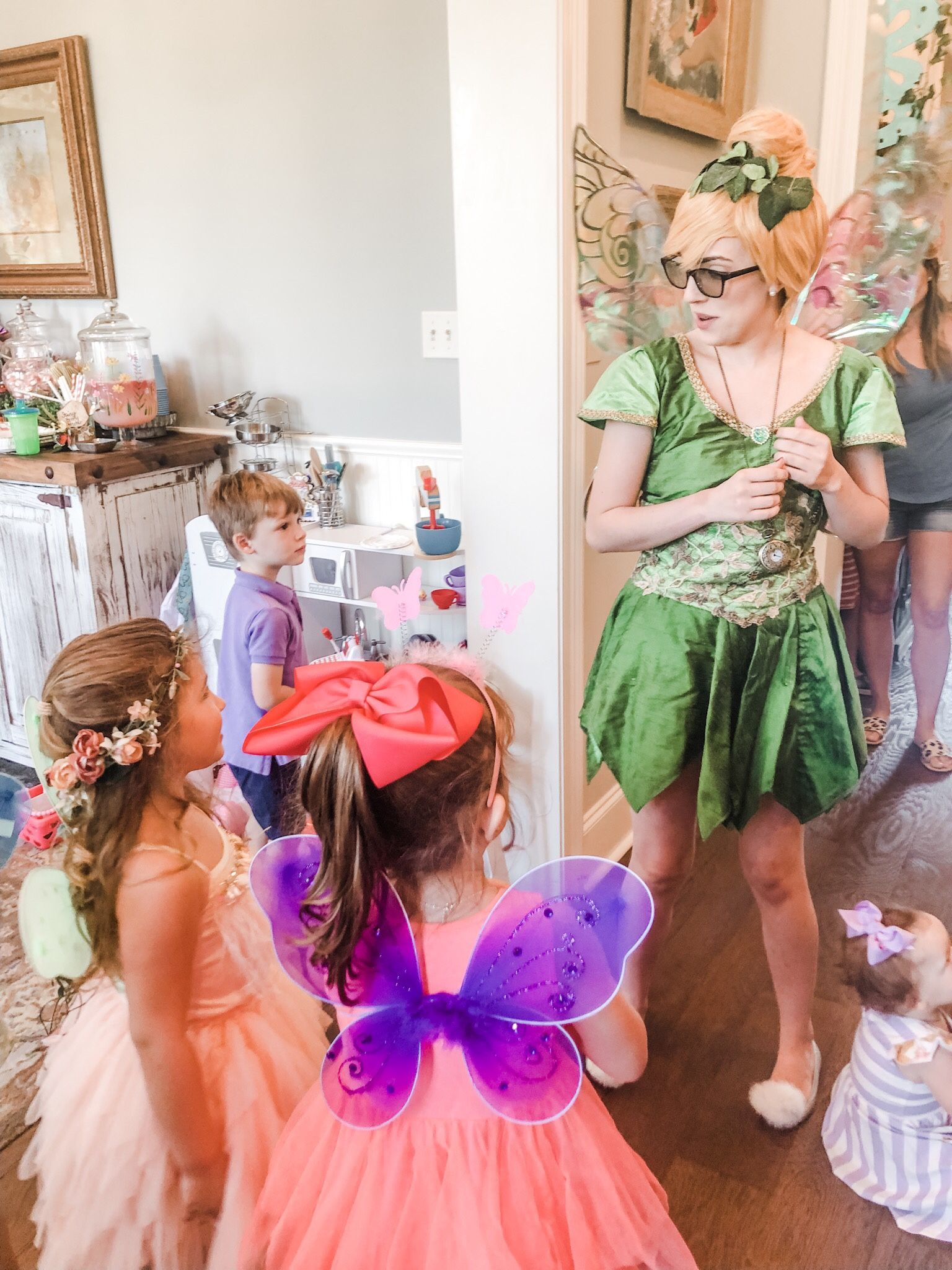 Enchanted forest 4th birthday party theme birthday party
