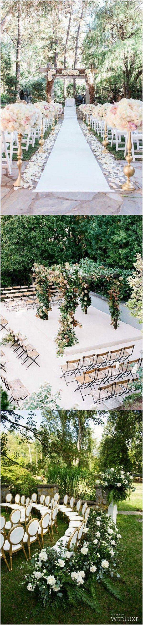 25 Brilliant Garden Wedding Decoration Ideas for 2018 Trends ...