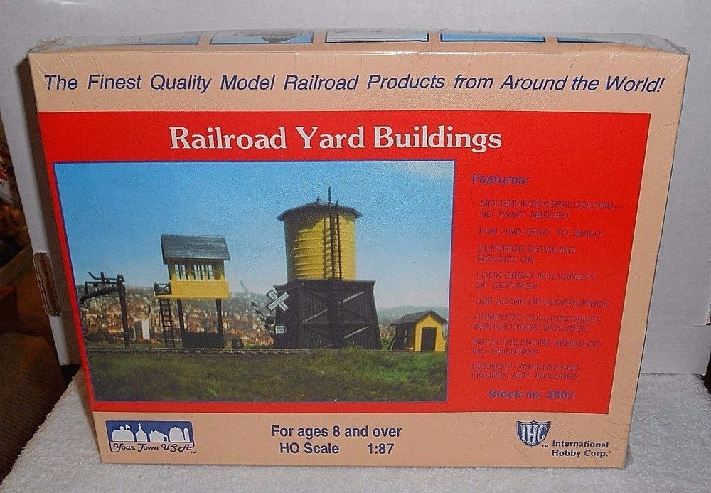 "New Sealed IHC ""HO"" Scale ""Railroad Yard Buildings"